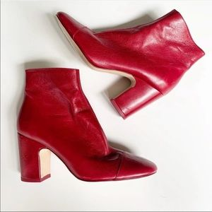 Red Zara Boot